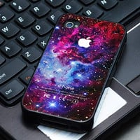 Hard Plastic Case - Fox Galaxy Nebula Space Stars Colour - iPhone 4/4s, iPhone 5, iPhone 5s, iPhone 5c, Samsung S2, S3, S4