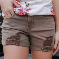 Starfish Beach Denim Shorts