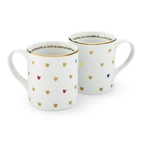 Love is Love Mug, Set of 2