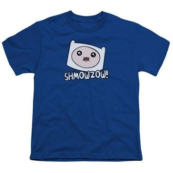 Adventure Time Shmowzow Youth T Shirt