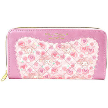 My Melody long wallet ladies women long wallet stitch pink Sanrio fashion bags & bag accessories series