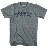 Greece City Vintage T-shirt
