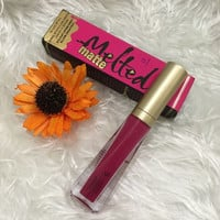 LIP KIT METALLIC LIPSTICK Too Face Melted Liquified Long wear Lipstick Melted Metal NIB LIPGLOSS Makeup Promotion