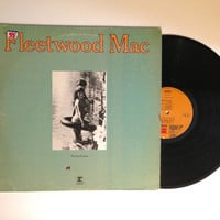 OCTOBER SALE Fleetwood Mac Future Games LP Album Classic Rock Show Me A Smile Vinyl Record 1971 Stevie Nicks