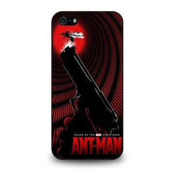 ant man logo marvel iphone 5 5s se case cover  number 1
