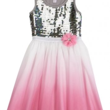 Embellished Dip Dye Tutu Dress | Girls from Justice | Clothes