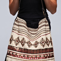 Kumari Tribal Beaded Shoulder Bag By Love Stitch