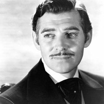 CLARK GABLE head shot GONE WITH THE WIND movie poster TOP quality 24X36