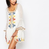 Tularosa Creseda Embroidered Dress at asos.com