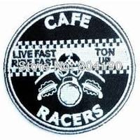Cafe Racers Iron On Patch