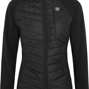 Ariat - Nimbus quilted shell and stretch-jersey jacket