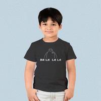 Kids T-shirt - Big Hero Six Baymax Ba La La La