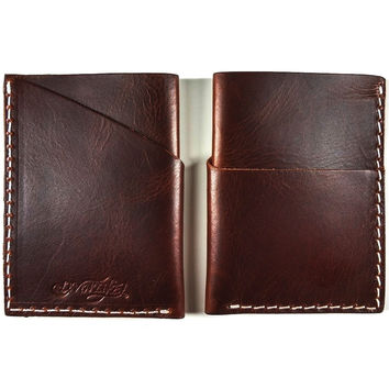 Slim Card Case (Brown)