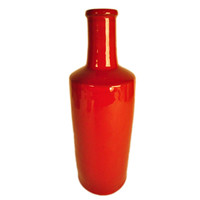 Terafeu Pottery Water Bottle, Red, Other Everyday Glasses