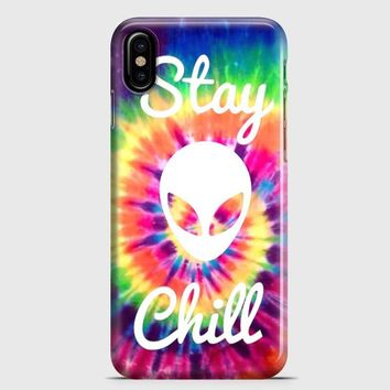Stay Chill iPhone X Case