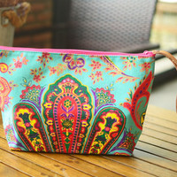 Handbags Clutch Bag Wrist let Tribal Cosmetic Bag Clutch Purse Hipster Bags, Handbag Bag Nepali Hippie Boho Woven Summer Hobo Yoga