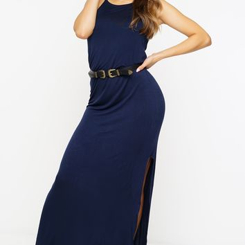 Deanna Maxi Dress - Navy
