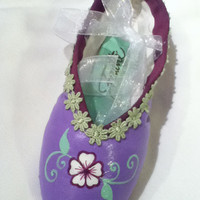 A Mother's Love … Decorated Pointe Shoe