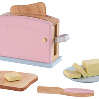 Pastel Toaster Set, Pink/Multi, Children's Toys