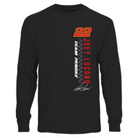 Joey Logano Finish Line Long Sleeve T-Shirt - Black