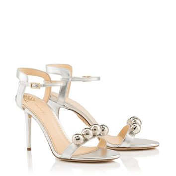 Disco Quintessential in Silver - Sandals | Charlotte Olympia