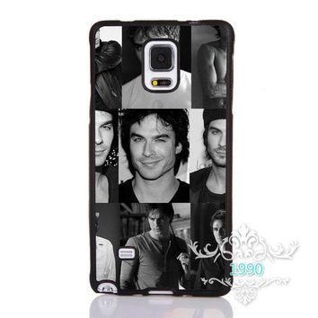Vampire Diaries Damon Salvatore Printed Phone Case Cover for iphone 4 5s 5c SE 6 6s 6plus 6splus Samsung galaxy s3 s4 s5 s6