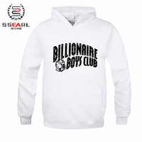 SSEARL.Autumn Winter Brand Skateboard BILLIONAIRE BOYS CLUB Hoodies Men Fashion Sweatshirt Sport Suit Fleece Pullover Men Bape