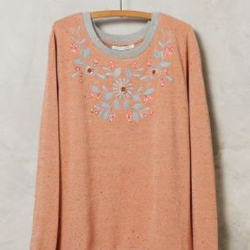 Alphamoment Orange Blossom Pullover in Orange Size:
