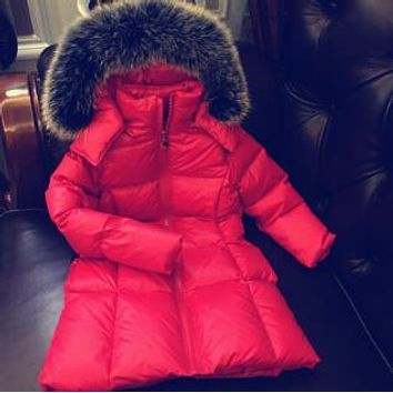 2017 New Long coat Boys Winter Jacket Coat White Duck Down Girls Winter Clothes0 2 6 8 10 12 14 Years Baby Boys Coat Warm Jacket