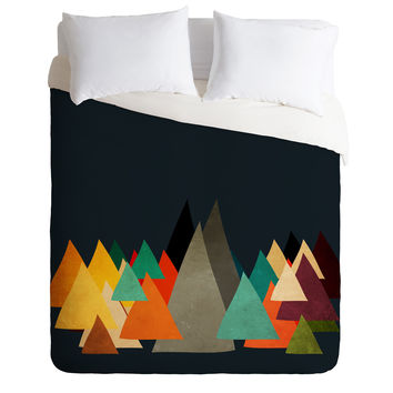 Viviana Gonzalez Textures Abstract 14 Duvet Cover