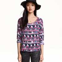 H&M Patterned Sweater $17.99