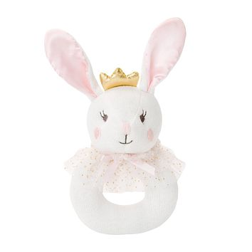BELLA BUNNY BABY RING RATTLE
