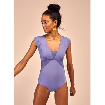 Juno One Piece in Periwinkle