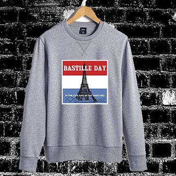bastille day Sweatshirt Crewneck Men or Women