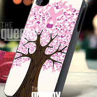 Breast Cancer Awareness - iPhone 4/4s/5 Case - Samsung Galaxy S3/S4 Case - Blackberry Z10 Case - Black or White
