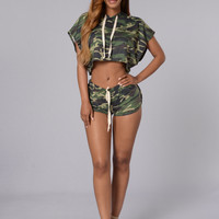 In The Wild Shorts - Army