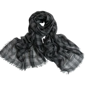 New Lady Scarf Classical Plaid Scarf Winter Warm Soft  Cotton Scarves Women Men scarves