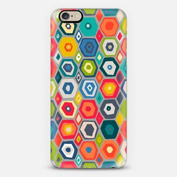 squid hex iPhone 6 case by Sharon Turner   Casetify