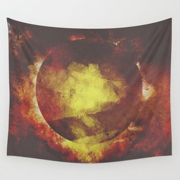 The baby moon Wall Tapestry by HappyMelvin