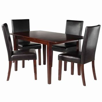 Anna 5-PC Dining Table Set w/ Chairs