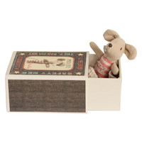Maileg Baby Girl Mouse in Box