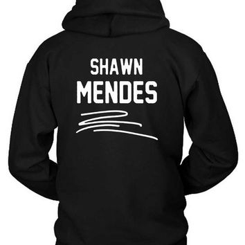 ESBH9S Shawn Mendes Title In Line Hoodie Two Sided