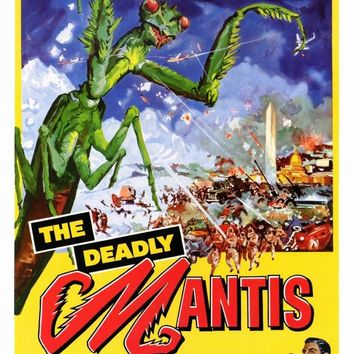 The Deadly Mantis 27x40 Movie Poster (1957)