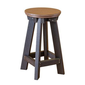 Wildridge Heritage Recycled Plastic Bar Stool