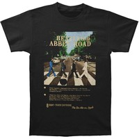 Beatles Men's  Abbey Road T-shirt Black