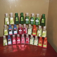 BATH AND BODY WORKS POCKET BAC HAND GEL- CHOOSE YOUR OWN FRAGRANCE