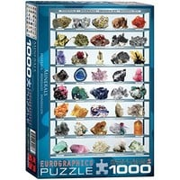 EuroGraphics Minerals of the World 1000 Piece Puzzle