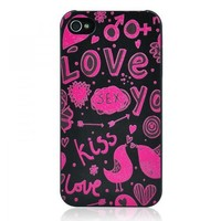Sexy Love Embossment Case for iPhone 5