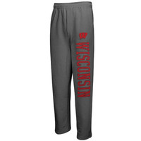 Wisconsin Badgers Dream Fleece Pants – Charcoal