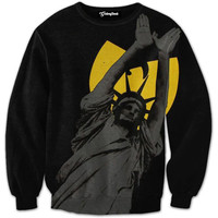 Statue of Wu Crewneck